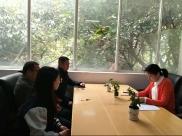 四川省精神医学中心党总支对重点权力部门负责人、责任人集体廉政谈话