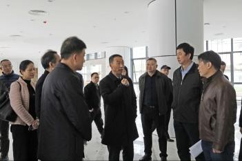 2019年12月17日,省卫健委党组书记沈骥一行到中心调研指导工作。