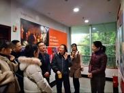党总支副书记胡敏带领共青团工作小组一行7人赴资阳团市委考察学习