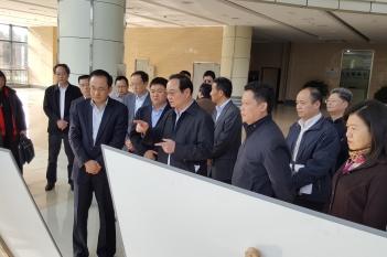 2017年2月17日,四川省委常委、常务副省长王宁督导四川省精神医学中心项目建设进展。