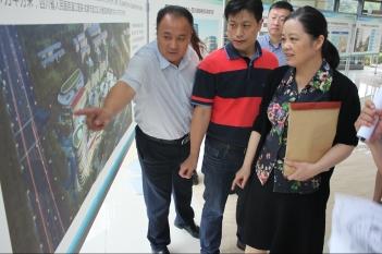 2017年9月25日,院本部王莉副院长一行考察中心建设情况并作指导。