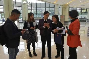 2017年10月20日,院本部王雪副院长到精医中心指导工作。