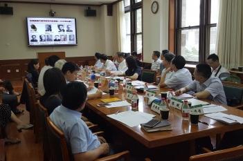2017年6月15日,院本部杨正林副院长带队前往北京协和医院谈合作共建并学习经验。