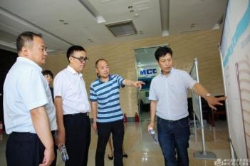 2019年8月25日,院本部杨正林副院长到精神医学中心调研指导工作。