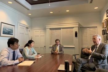 2019年7月20-29日,中心周波副主任一行3人赴美国波士顿麻省总医院精神科访问学习。