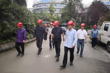 2019年9月24日,院纪委黄凤兴书记到精医中心视察工作。